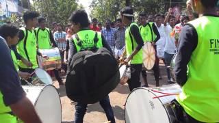 irinjalakuda shashti 2015 nasik dhol @bad boys corner gandhigram