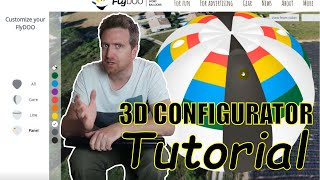 How to customize your FlyDOO - 3D Configurator tutorial - chose colors and apply colors easily!