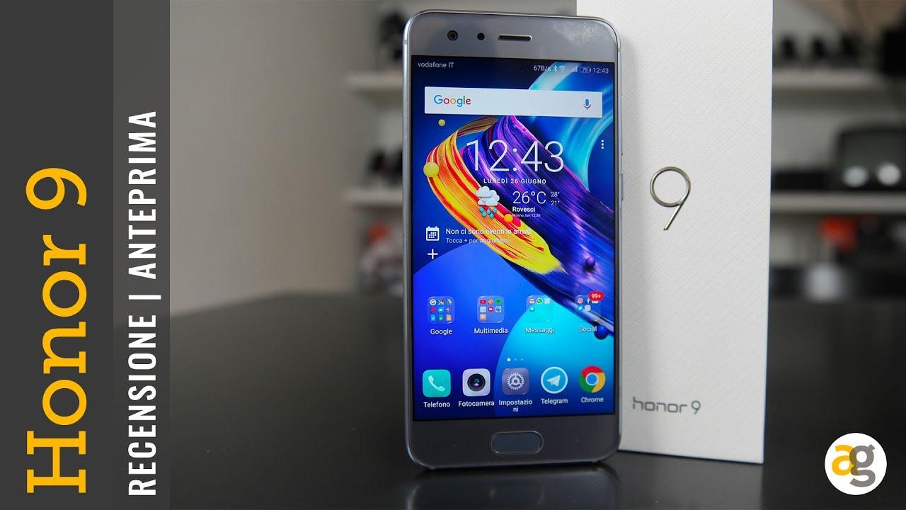 telefono cellulare in offerta honor 9  RECENSIONE Honor 9 e confronto con Honor 8 - YouTube