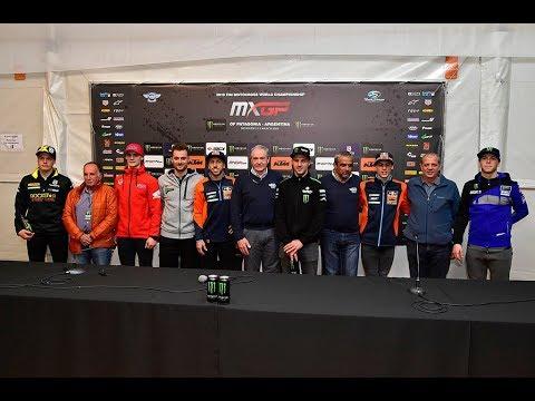 2019 FIM Motocross World Championship Opening Press Conference