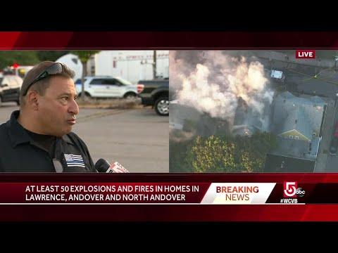 Police chief: Dozens of confirmed fires, explosions across Merrimack Valley,