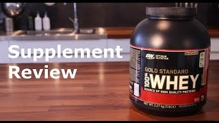 Optimum Nutrition Gold Standard 100% Whey Protein - Review