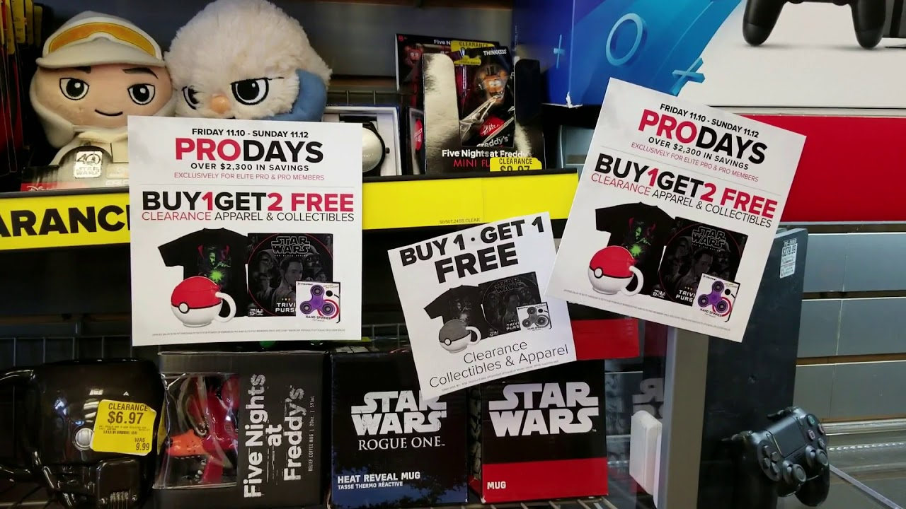 gamestop pro day deals plus win a 50 gamestop gift card by commenting - Is Gamestop Open On Christmas Day