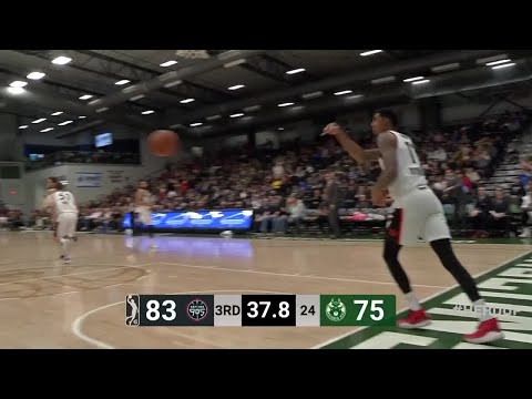 [GLeague] Former 4th overall pick Dragan Bender drops 26 points on 9-17 shooting (2-4 from 3, 4-5 from FT) to go along with 14 boards, 4 assists and 2 blocks in a 115-109 victory for the Wisconsin Herd over the Raptors 905!