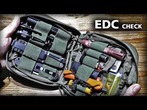 Мой EDC набор 2018/НАЗ/EDC Check/New Everyday Carry Gear/EDC Bag