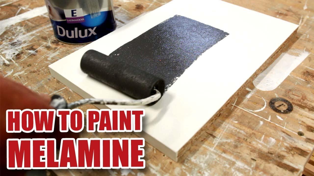 How Do I Paint Melamine Diy Tips Youtube