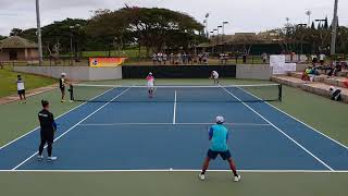"2018 World Softtennis Watakyu Cup ""Hawaii Open🇺🇸"" Men's Semi final rounds"