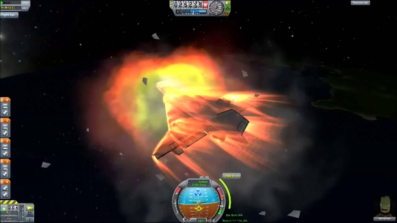 kerbal space program re entry - photo #21