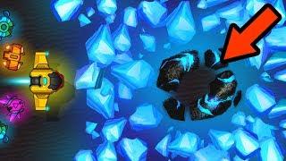 BIGGEST MINE CRYSTAL EXPLOSION EVER RECORDED! (.IO VERSION SPORE) l Exocraft.io New .IO Game