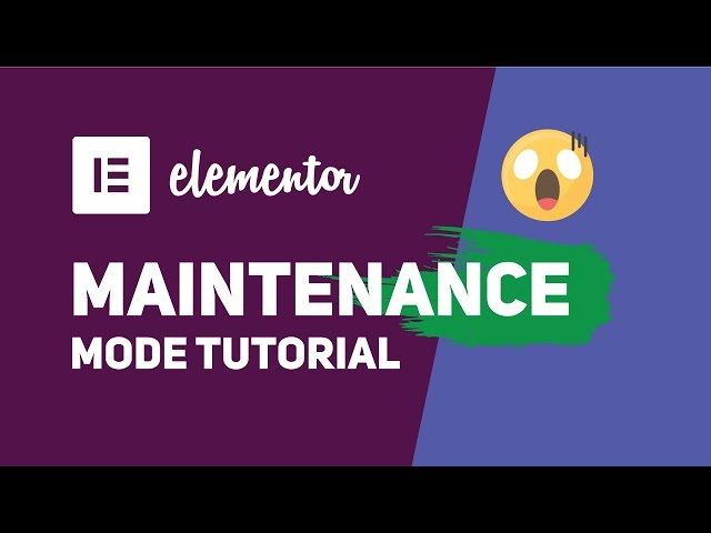 How To Enable Maintenance or Coming Soon Mode using Elementor (No Other Plugin)