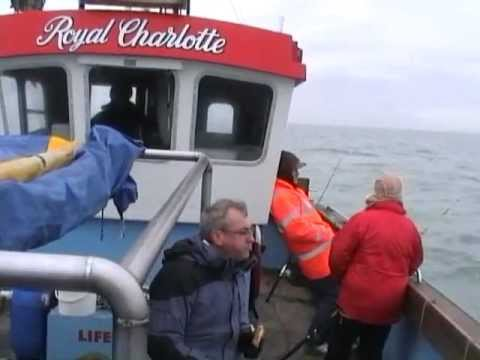 KCC Sea Fishing Charter Boat Trip 2010 - Royal Charlotte out of Dover