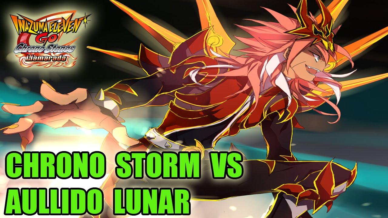 Download Inazuma Eleven Go Chrono Stones - Chrono Storm vs Aullido Lunar (español)