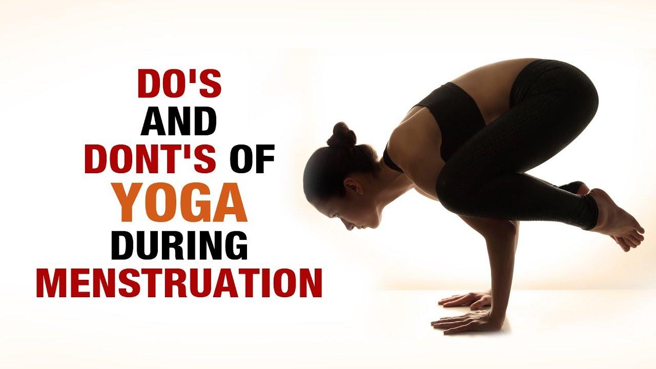 Do S And Dont S Of Yoga During Menstruation Shikha Chandok Fitvit Youtube