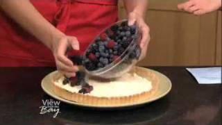 Very Berry Mascarpone Tart Made With Trader Joe's Ingredients