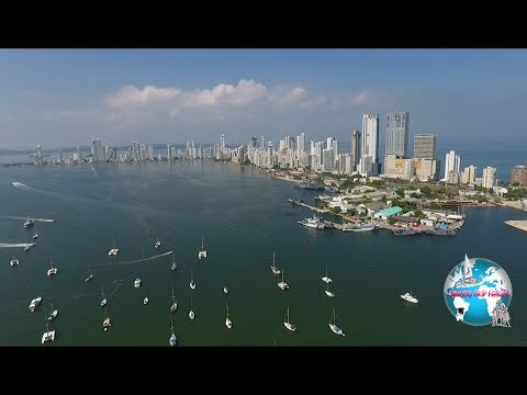Sailing Trip Family  Episode 01 -  Sailing from Panama to Colombia
