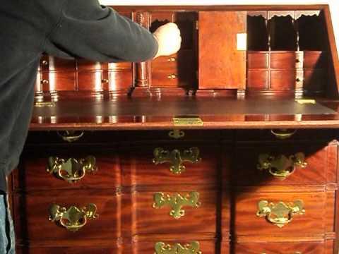 Boston Desk Secret Compartment