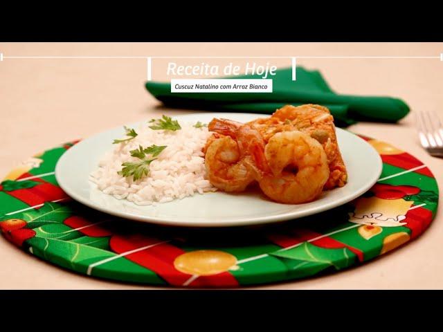 Receitou - Cuscuz natalino com arroz Bianco