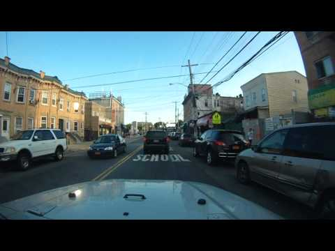 Driving around Queens, NYC