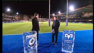 The Ice Academy's work with the BBC for Football Focus and Scrum V Live