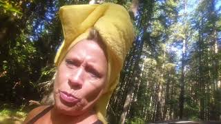 Mt. Saint Helens, Ausia's birthday, $2 shower - Full time van life