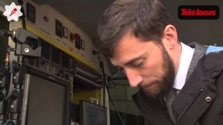 Reportage : Comment les reporters de BFM TV travaillent à l'Elysée ?