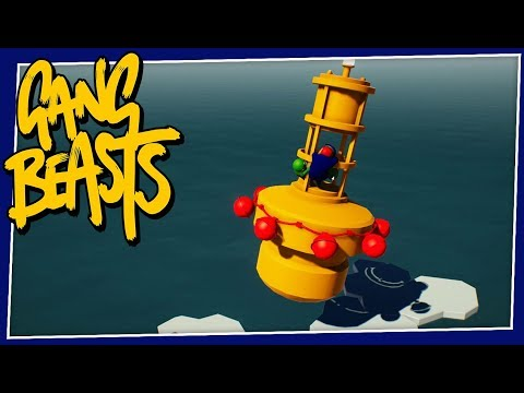Gang Beasts - #217 - A FLYING BOUY?!?!