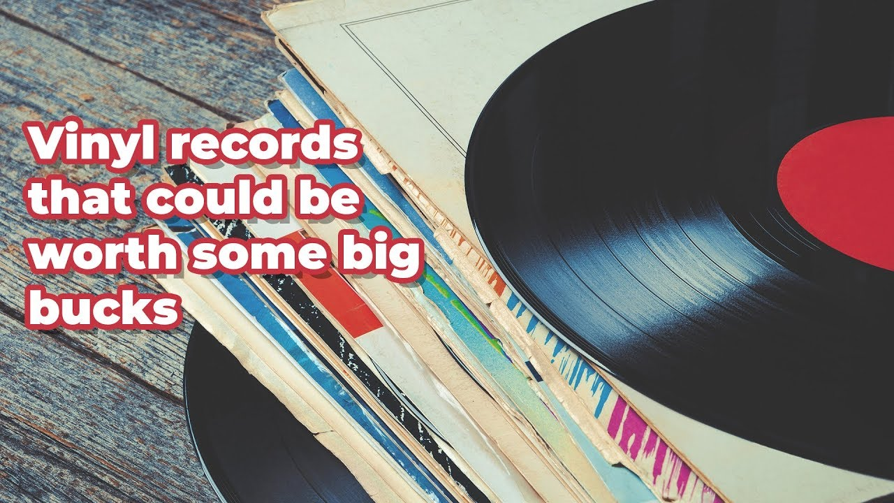 Check your home! These vinyl records are worth big money - YouTube