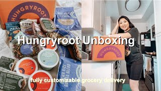 Hungryroot Unboxing Fully Customizable Grocery Delivery