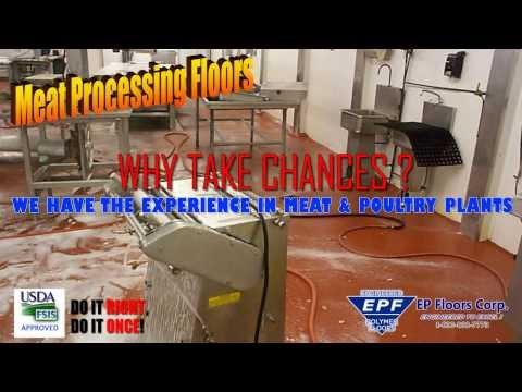 The Toughest Meat Processing Floors | PUMA-CRETE®