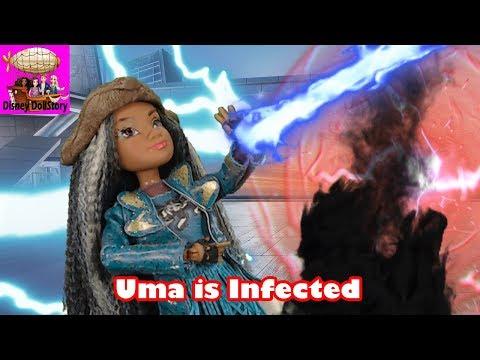 Uma is Infected - Part 2 - Descendants Star Darlings Disney