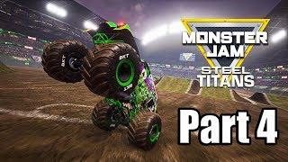 Monster Jam Steel Titans - Part 4 Gameplay | Arena Championship [PS4 PRO]