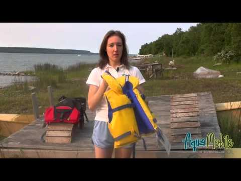 The Difference between a Life Jacket and Personal Floatation Device by AquaMobile Home Swim Lessons