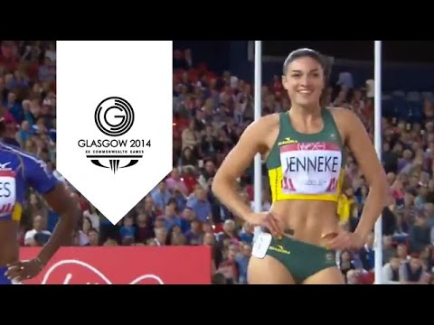 Michelle Jenneke performs her famous warm up dance   Unmissable Moments