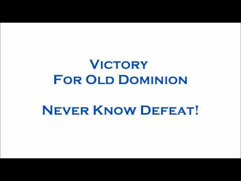 Victory for Old Dominion! The ODU Football Fight Song