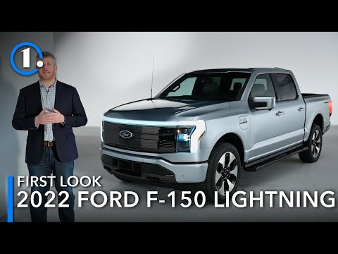 2022 Ford F-150 Lightning: First Look (Up-Close Details)