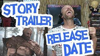 God Of War - Story Trailer - REACTION
