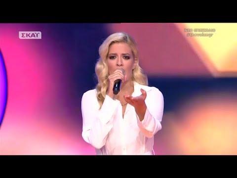 The Voice of Greece 4  Blind Audition  AKROGIALIES DEILINA  Mara Tzima