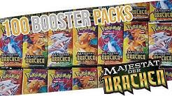 100 MAJESTÄT DER DRACHEN BOOSTER OPENING! Mehr als 500€ in Pokemonkarten Unboxing Dragon Majesty