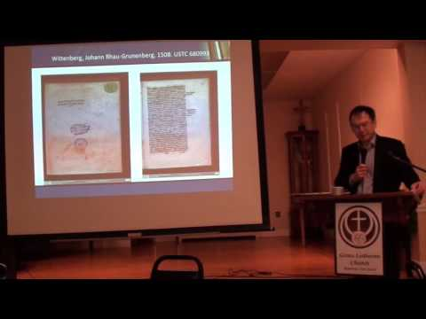"""""""Reformation and the Culture of Persuasion"""" by Prof. Andrew Pettegree"""