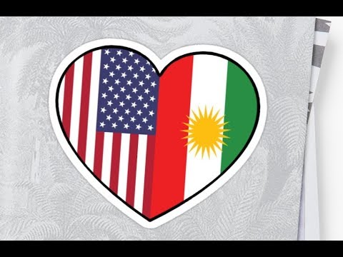 Kurds protest in front of the US Consulate General in Erbil
