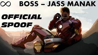 Boss - Jass Manak ft. Tony Stark | Tony Stark Boss Spoof | Boss Song Official Spoof | Boss Mashup