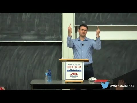 Ben Shapiro at University of Wisconsin–Madison (Featuring Special Snowflakes)