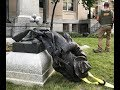 Protesters Pull Down Confederate Monument In N Carolina