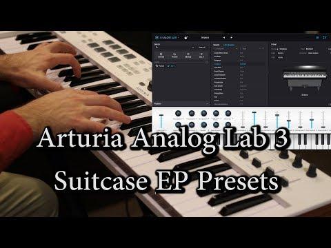 Arturia Analog Lab3 Suitcase EPs - KeyLab 61 Essential