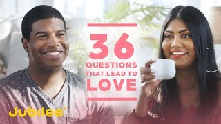 Can 2 Strangers Turn an Awkward Blind Date Around with 36 Questions?