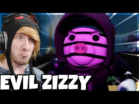 THE RETURN OF ZIZZY CUTSCENE.. (She's EVIL)   Piggy Cutscene Concept