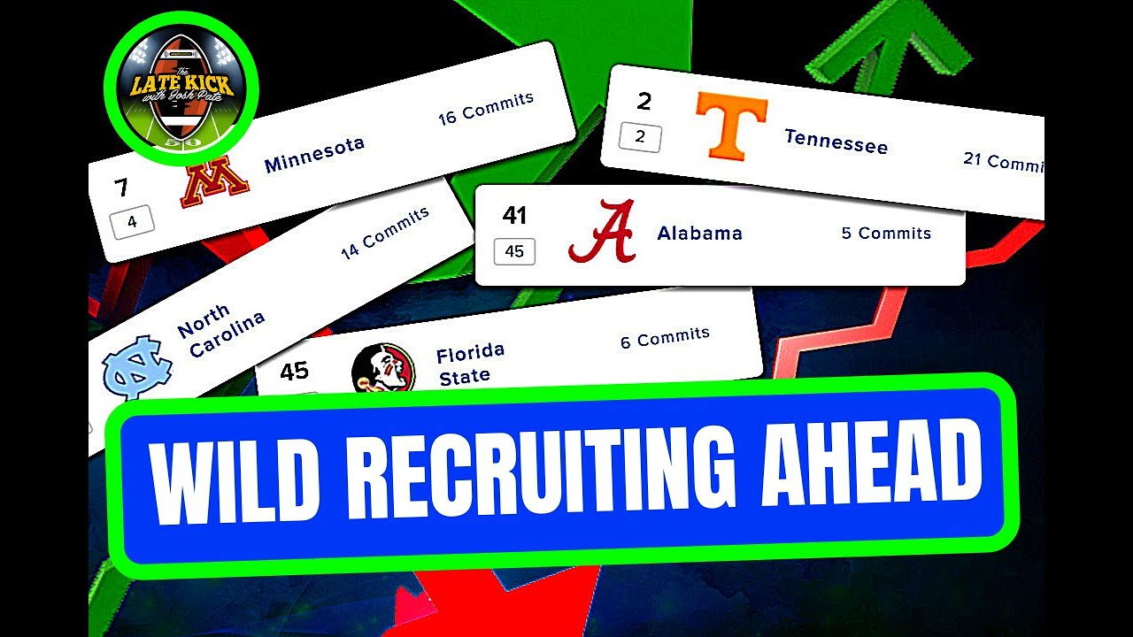 College Football Recruiting Could Be WILD This Fall (Late Kick Cut)