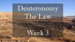 Deuteronomy Week 3