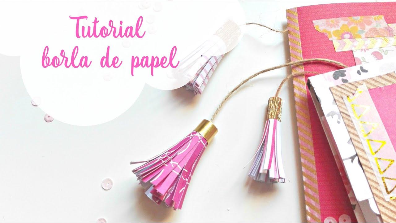 Tutorial c mo hacer una borla de papel decorado how to for Construir una pileta de material