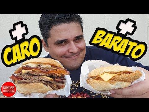 DUNDEE BURGER - Os Sanduíches +BARATO e +CARO do Outro Irmão do Madero